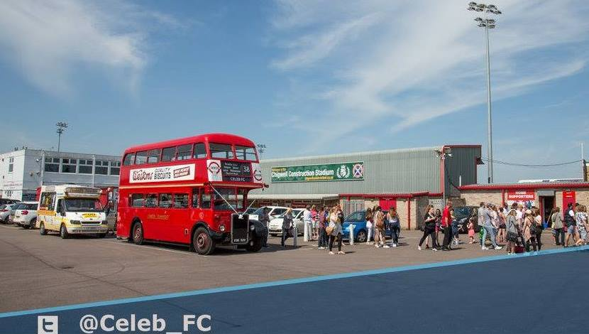 British Red Bus - Travel Sponsor 2015-19