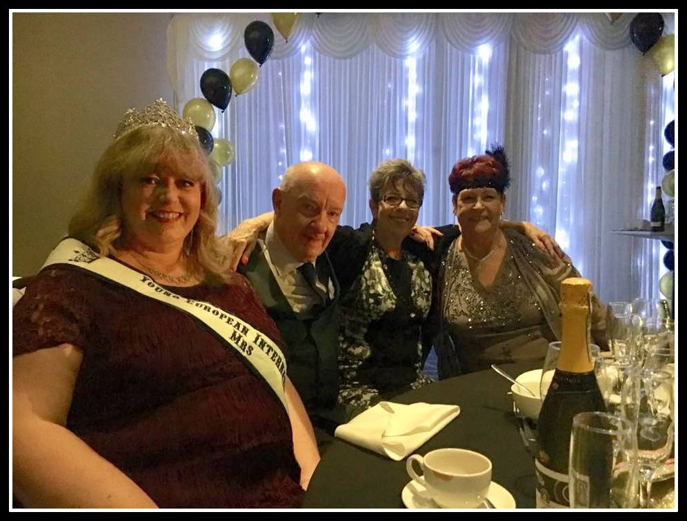 Guests Dawn Lowe, Ray & Vi Donovan MBE & Ex Mayor of Sutton Jean crossby